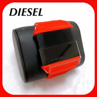 ディーゼル(DIESEL)のDIESEL ディーゼル ♥︎ デジタル腕時計 赤 シリコン素材(腕時計(デジタル))