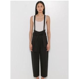 エムエムシックス(MM6)のMM6 ワイドパンツGabradine Suspender Trousers(カジュアルパンツ)