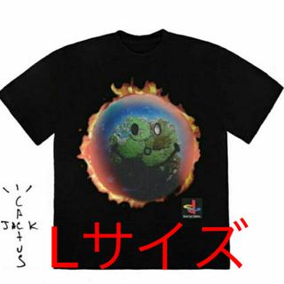 ナイキ(NIKE)のTravis scott World t-shirts Lサイズ(Tシャツ/カットソー(半袖/袖なし))
