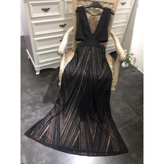 ビーシービージーマックスアズリア(BCBGMAXAZRIA)の❤️BCBG 2020新作 新品 ロングワンピース ドレス 2色 綺麗(ロングドレス)
