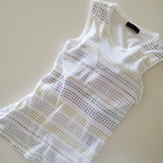 ロエベ(LOEWE)の🇪🇸LOEWE ロエベ アナグラムノースリーブ カットソー レディース(Tシャツ(半袖/袖なし))