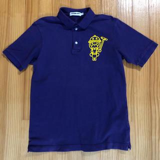 アベイシングエイプ(A BATHING APE)のベイシングエイプ ポロシャツ S パープル(ポロシャツ)