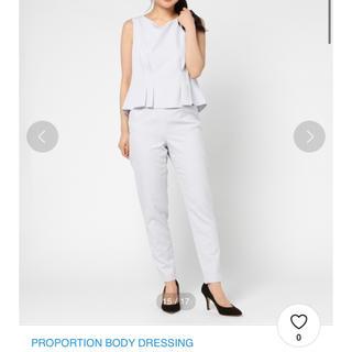 プロポーションボディドレッシング(PROPORTION BODY DRESSING)のproportion body dressing バックリボンセットアップ(セット/コーデ)