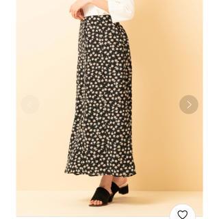 レトロガール(RETRO GIRL)のRETORO GIRL  ロングスカート 花柄 2月中に消します(ロングスカート)