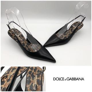 ドルチェアンドガッバーナ(DOLCE&GABBANA)のDOLCE & GABBANA ドルチェ&ガッバーナ ドルガバ パンプス 美品(ハイヒール/パンプス)