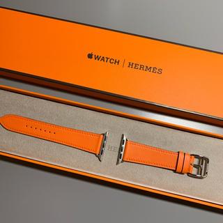 エルメス(Hermes)の新品☆HERMES☆Apple Watch5/40mm/レザーストラップ(レザーベルト)