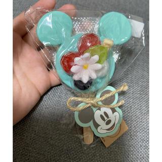 ディズニー(Disney)の【お値下げ可能】ディズニー ミッキー 石鹸 フルーツソープ(インテリア雑貨)