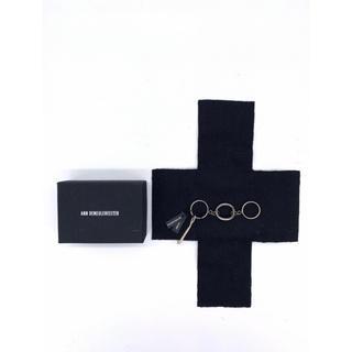 アンドゥムルメステール(Ann Demeulemeester)の新品 アンドゥムルメステール 3連リング 指輪 ANN (リング(指輪))