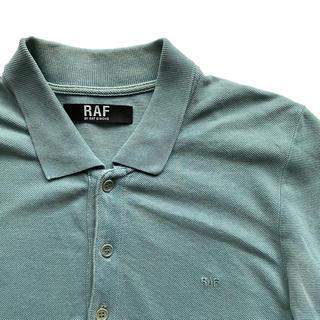 ラフシモンズ(RAF SIMONS)のRAF BY RAF SIMONS  LOGO POLO SHIRT(ポロシャツ)