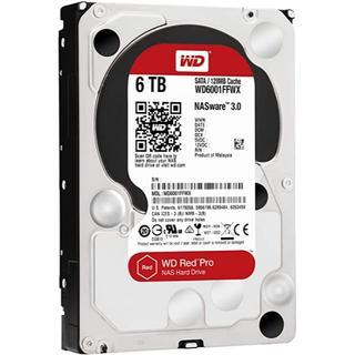 新品 6TB WD6001FFWX HDD SATA WD Red Pro(PCパーツ)