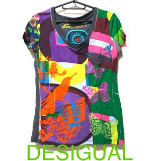 デシグアル(DESIGUAL)のDESIGUALデシグアルのTシャツ(Tシャツ(半袖/袖なし))