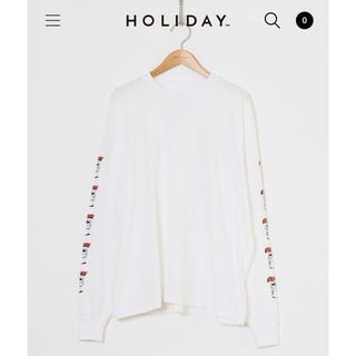 ホリデイ(holiday)の完売 HOLIDAY ホリデイ SUPER FINE L/S T-SHIRT(Tシャツ(長袖/七分))