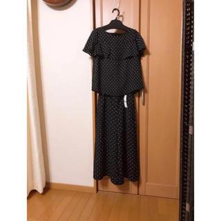 ジーユー(GU)のgu ブラウス パンツ セットアップ(シャツ/ブラウス(半袖/袖なし))
