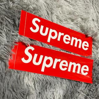 シュプリーム(Supreme)のSUPREME ボックス ステッカー(ステッカー)