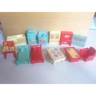 サンリオ(サンリオ)のレトロ おもちゃ サンリオ パティ&ジミー の 家具 12点セット(その他)