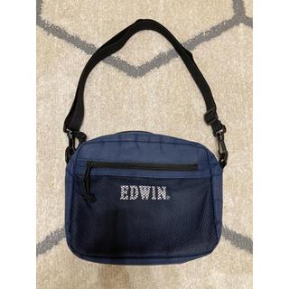 エドウィン(EDWIN)のEDWIN ショルダーバッグ ブルー(ショルダーバッグ)