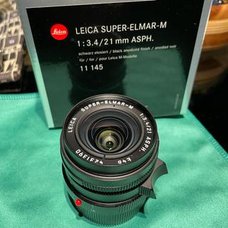 ライカ(LEICA)のライカLeica広角レンズSUPER-ELMAR-M F3.4/21mm新型(レンズ(単焦点))