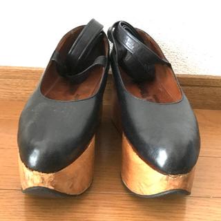 ヴィヴィアンウエストウッド(Vivienne Westwood)のuk5 Vivienne Westwood ロッキンホースバレリーナ(ローファー/革靴)