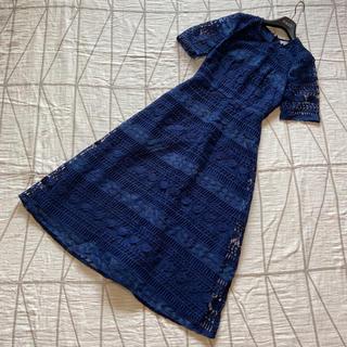 エイソス(asos)の【 UK8】ASOS designプレミアムレースドレス(ロングワンピース/マキシワンピース)
