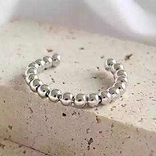 アングリッド(Ungrid)のsilver925 シルバーリング ボールチェーン デザイン リング 指輪(リング(指輪))