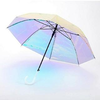 ウィゴー(WEGO)のホログラム傘 【1006】(傘)