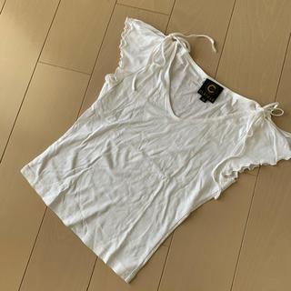 クレイサス(CLATHAS)のクレイサス♡肩リボンTシャツ(Tシャツ(半袖/袖なし))