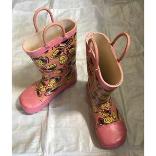 ヒステリックミニ(HYSTERIC MINI)のヒスミニ 長靴 18センチ キッズ(長靴/レインシューズ)