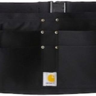 カーハート(carhartt)のカーハート ダック ネイル エプロン 黒 S/M ウエスト ポーチ バッグ(ウエストポーチ)