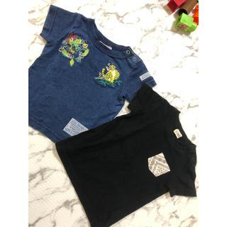 ターカーミニ(t/mini)の80 男の子 Tシャツ(Tシャツ)