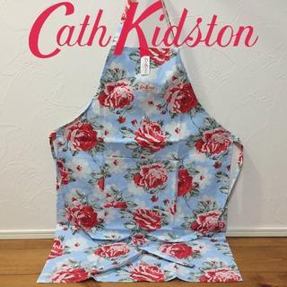 キャスキッドソン(Cath Kidston)の新品 キャスキッドソン エプロン ニューローズブルームブルー(その他)