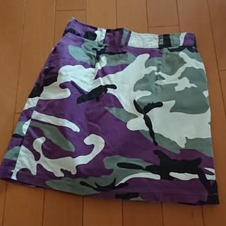 WEGO - WEGO*ピープス 迷彩スカート/F