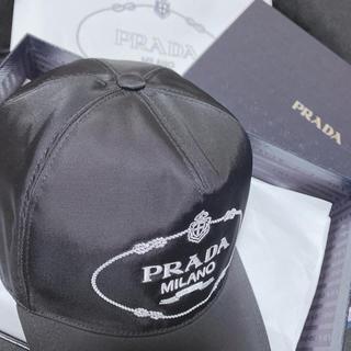 プラダ(PRADA)のPRADA ナイロン ベースボールキャップ(キャップ)