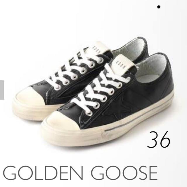 L'Appartement DEUXIEME CLASSE(アパルトモンドゥーズィエムクラス)の GOLDEN GOOSE/ゴールデングースV-STAR 2 SNEAKERS レディースの靴/シューズ(スニーカー)の商品写真