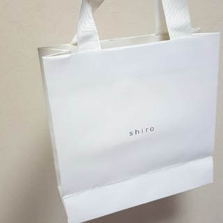 シロ(shiro)のshiro 2枚 袋(ショップ袋)