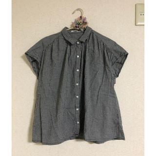 エヘカソポ(ehka sopo)のehkasopo * チェックシャツ(シャツ/ブラウス(半袖/袖なし))
