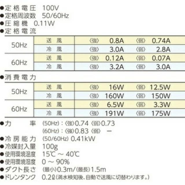 山善(ヤマゼン)の即発送可能!ポータブルスポットクーラー カンゲキくんYNC-A160 スマホ/家電/カメラの冷暖房/空調(その他)の商品写真