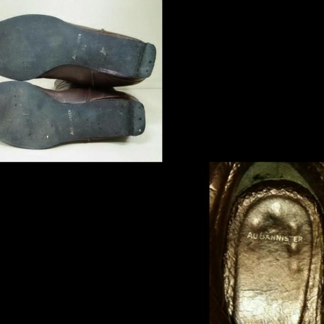 AU BANNISTER(オゥバニスター)のオウバニスター ロングブーツ 36 レザー レディースの靴/シューズ(ブーツ)の商品写真