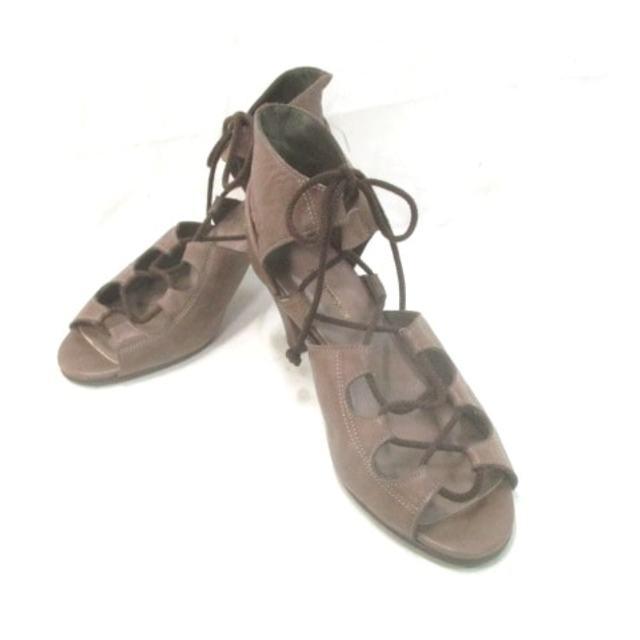 AU BANNISTER(オゥバニスター)のオウバニスター ブーティ 38 レディース レディースの靴/シューズ(ブーティ)の商品写真