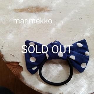 マリメッコ(marimekko)の[marimekko] handmade マリメッコ ハンドメイド 限定柄(ヘアアクセサリー)