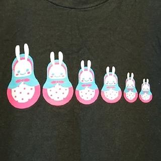 キューン(CUNE)のキューン マトリョーシカ うさぎ Tシャツ Mサイズ CUNE(Tシャツ/カットソー(半袖/袖なし))