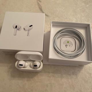 アップル(Apple)のAirPods Pro ほぼ新品 (ヘッドフォン/イヤフォン)