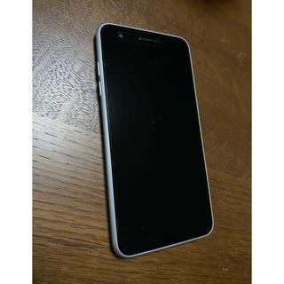 エーユー(au)のLG  LGV36   ホワイト(スマートフォン本体)