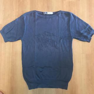 バーバリー(BURBERRY)のバーバリー tシャツカット ニット(Tシャツ/カットソー(半袖/袖なし))