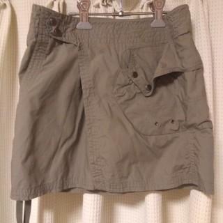 ラルフローレン(Ralph Lauren)のラルフローレン ミニ巻スカート(ミニスカート)