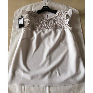 ルネ(René)の2020年 Rene ルネ 36  ブラウス ビジュー パール(シャツ/ブラウス(半袖/袖なし))
