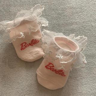 バービー(Barbie)の新生児用〜3ヵ月バービーソックス(靴下/タイツ)