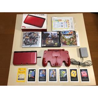 ニンテンドウ(任天堂)の任天堂3DS LL(携帯用ゲーム機本体)