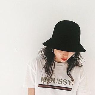 moussy - (マウジー) moussy ハット RETRO BUCKET HAT レディース