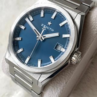 ゼニス(ZENITH)のメーカー保証2022年12月までゼニス デファイ クラシック チタンブレスレット(腕時計(アナログ))