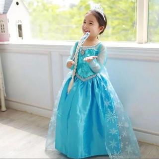 Disney - エルサ ドレス プリンセスドレス アナ雪 衣装 コスプレ